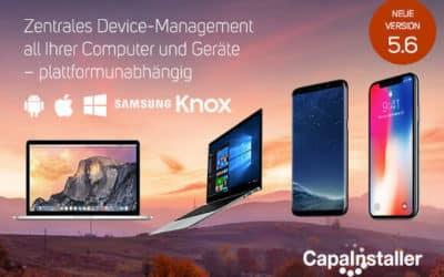 Release CapaInstaller 5.6: Willkommen Zu macOS