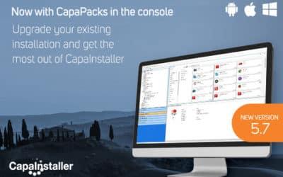 Release CapaInstaller 5.7